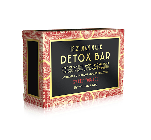 Detox Bar Soap 7oz 18.21 Man Made
