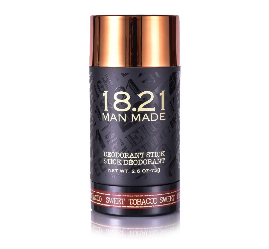 18.21 MAN MADE DEODORANT- SWEET TOBACCO 2.6oz/75g (D)