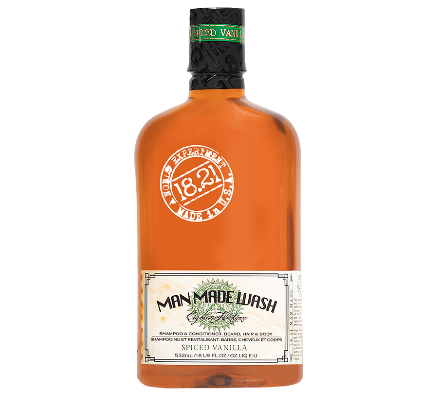 Spiced Vanilla Man Made Wash 18oz 18.21 MAN MADE