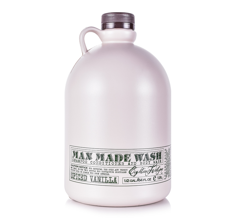 Man Made Wash 64oz Spiced Vanilla 18.21 Man Made