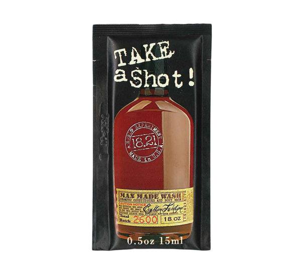 18.21 MAN MADE WASH SHOT FOILPACK-SWEET TOBACCO