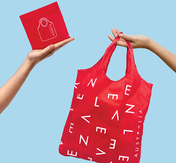 Limited Edition Reusable Eco-Tote Bag Eleven Australia