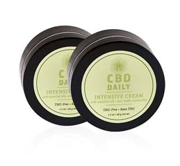 Original Intensive Cream: Buy 1, Get 1 FREE CBD Daily