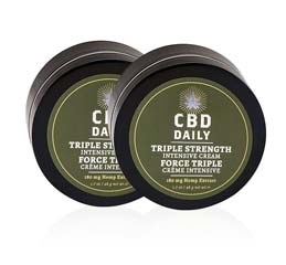 Triple Strength Intensive Cream: Buy 1, Get 1 FREE CBD Daily