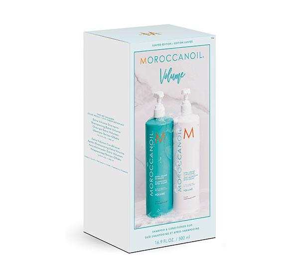 Extra Volume Half Liter Duo Moroccanoil