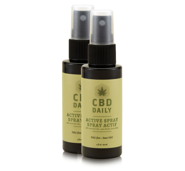 Active Spray BOGO - Original Strength CBD Daily