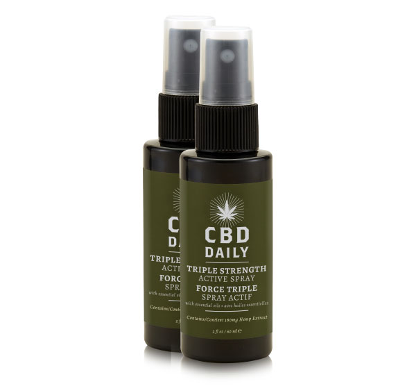 Active Spray BOGO - Triple Strength CBD Daily