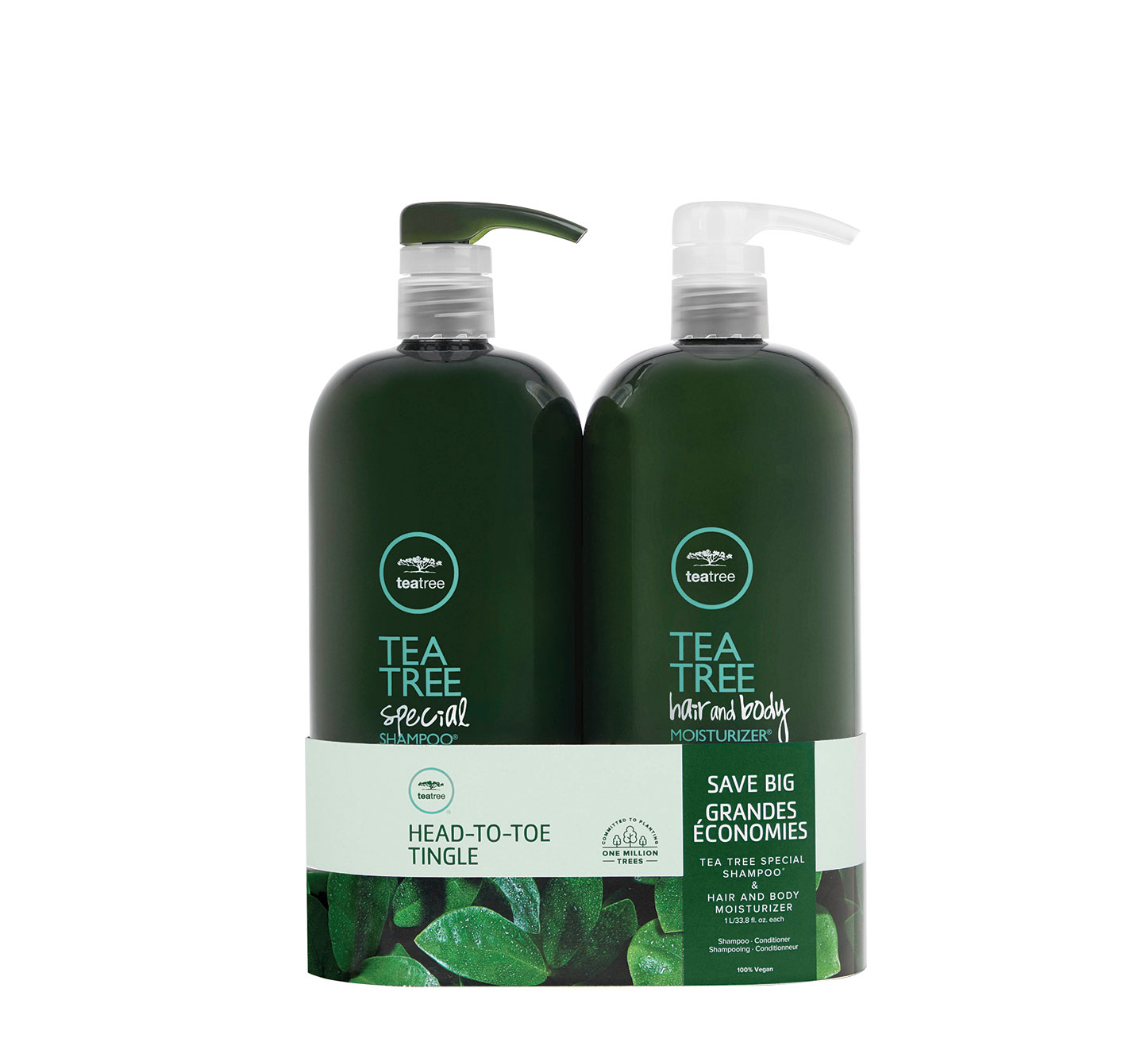 Special Duo Paul Mitchell Tea Tree