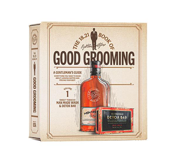 18.21 Man Made Grooming Gift Set Volume 1