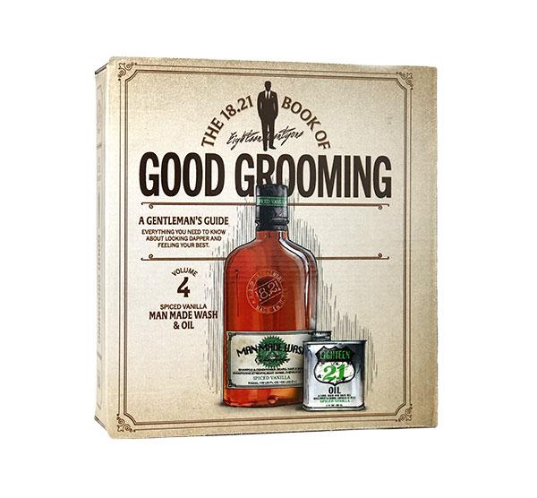 18.21 Man Made Grooming Gift Set Volume 4