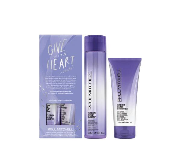 Paul Mitchell Platinum Blonde Gift Set