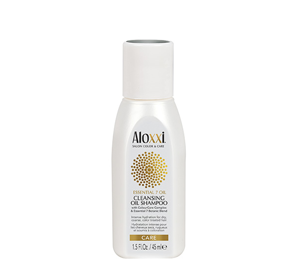 Essential 7 Oil Cleansing Oil Shampoo 1.5oz ALOXXI
