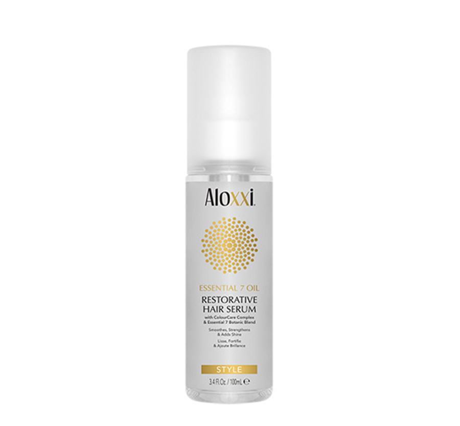 Essential 7 Oil Restorative Hair Serum .16oz ALOXXI