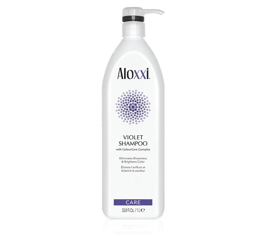 Violet Shampoo 33.8oz Aloxxi
