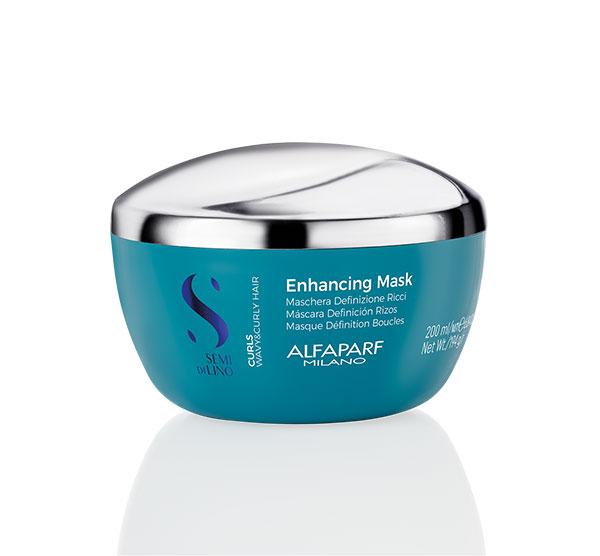 Curls Enhancing Mask 6.8oz Alfaparf Milano Semi Di Lino