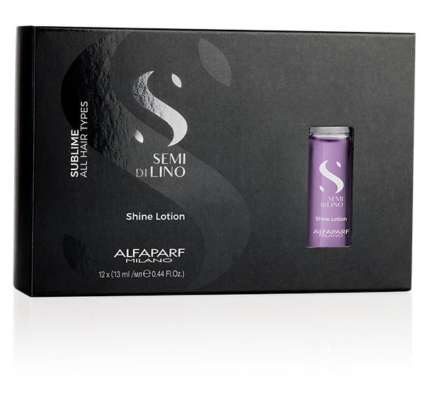 Sublime Shine Lotion .44oz (12pk) Alfaparf Milano