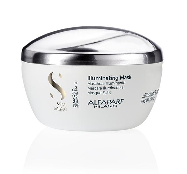 Diamond Illuminating Mask 6.9oz ALFAPARF Semi Di Lino