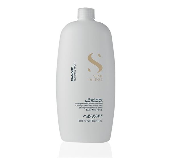 Diamond Illuminating Low Shampoo 33.8oz Alfaparf Milano Semi Di Lino