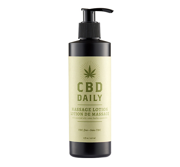 CBD MASSAGE LOTION 8OZ