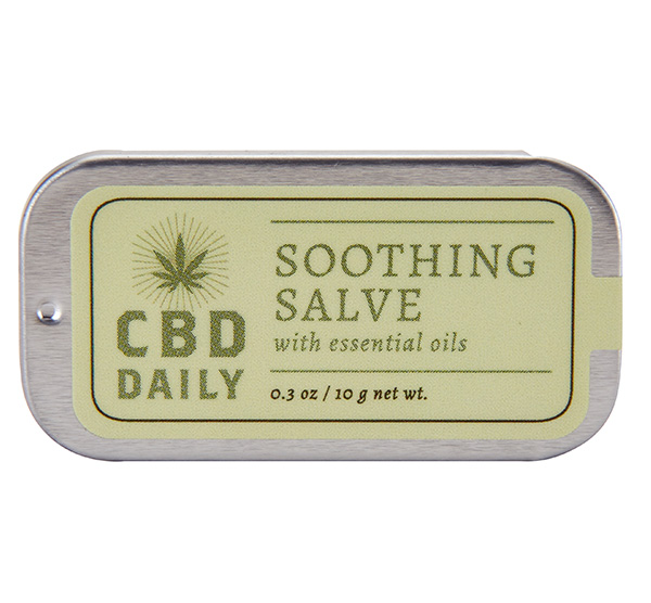 CBD LIP BALM + SALVE DAILY SALVE + LIP BALM .3 OZ