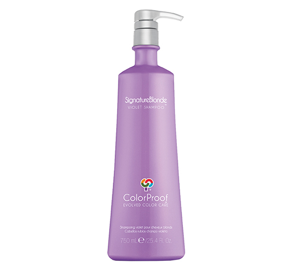 SignatureBlonde Violet Shampoo 25.4oz ColorProof