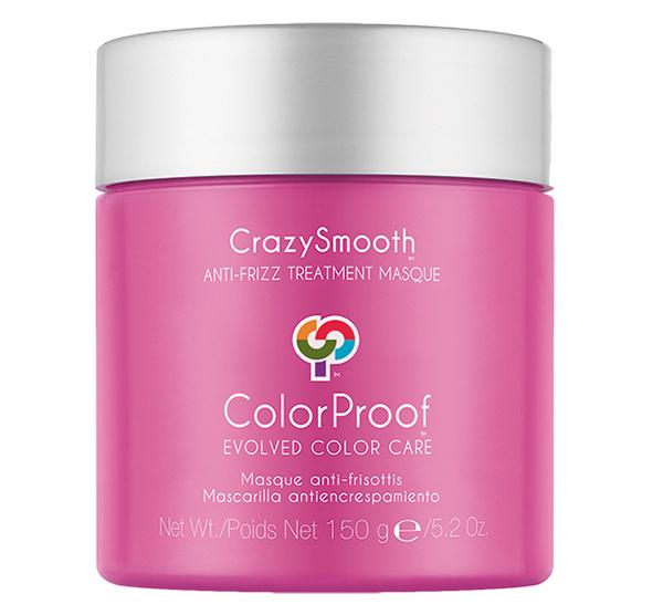 Crazysmooth Anti-Frizz Treatment Masque 5.2oz COLORPROOF