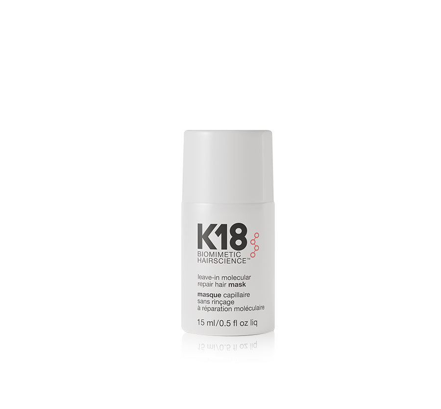 K18 Biomimetic Hairscience K18 Leave-In Molecular Repair Hair Mask .5oz
