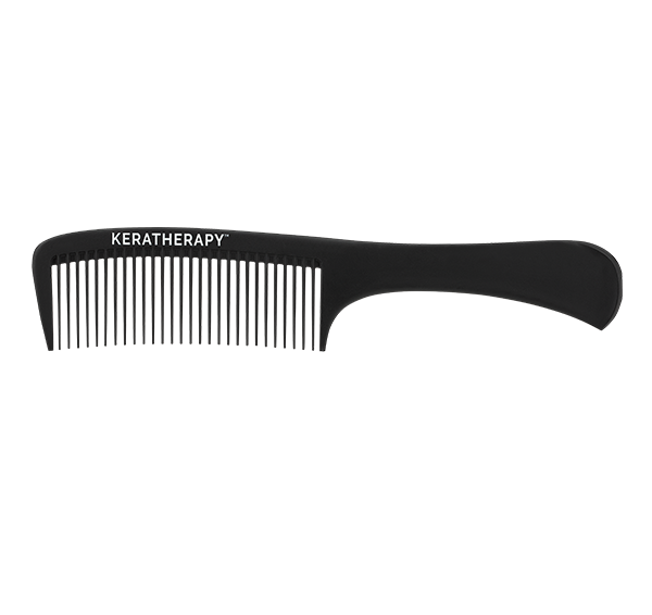 Heat Resistant Carbon Wide Tooth Comb Black Keratherapy
