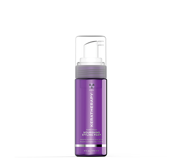 Nourishing Styling Foam 6oz Keratin Infused