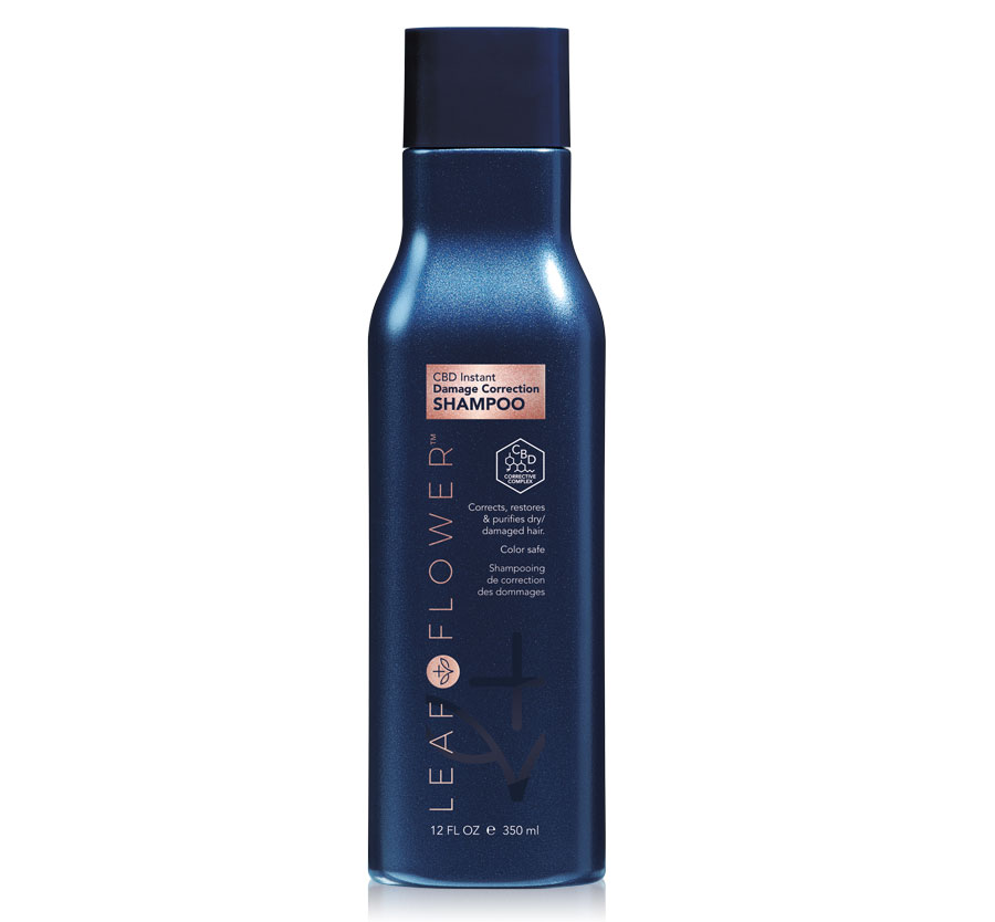 Cbd Instant Damage Correction Shampoo 12oz LEAF + FLOWER