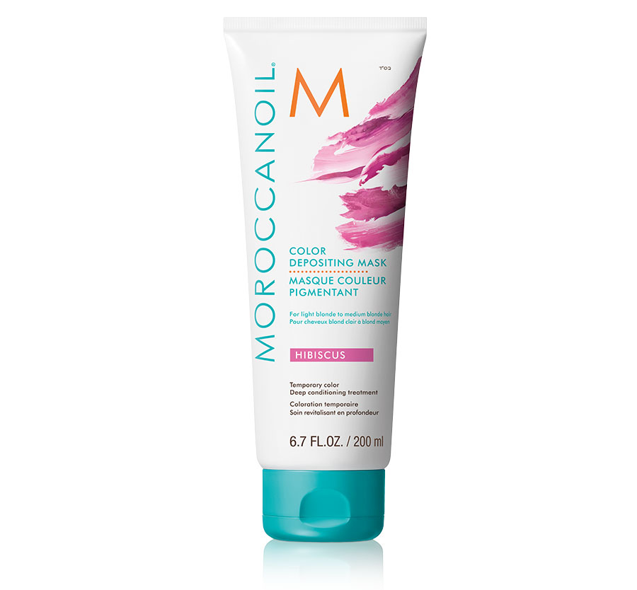 Hibiscus Color Depositing Mask 6.7oz MOROCCANOIL