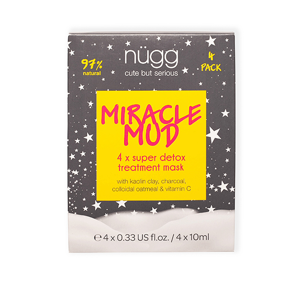 Miracle Mud Super Detox Treatment Mask 4pk Nugg
