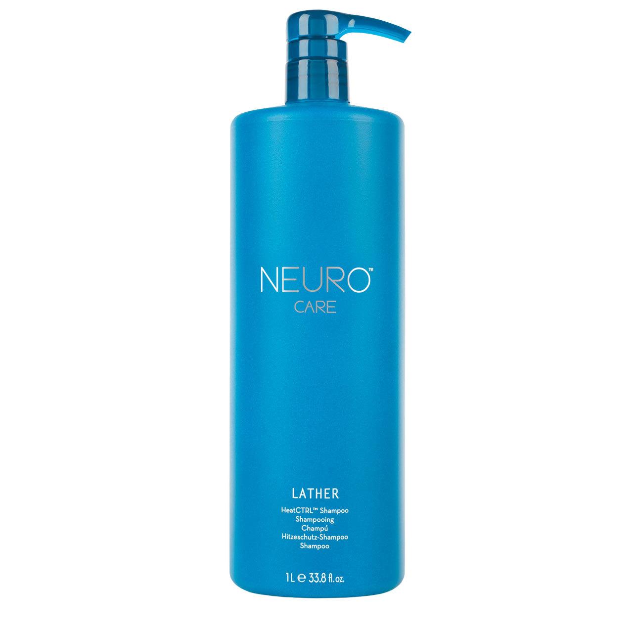 Lather HeatCTRL Shampoo 33.8oz Paul Mitchell Neuro Liquid