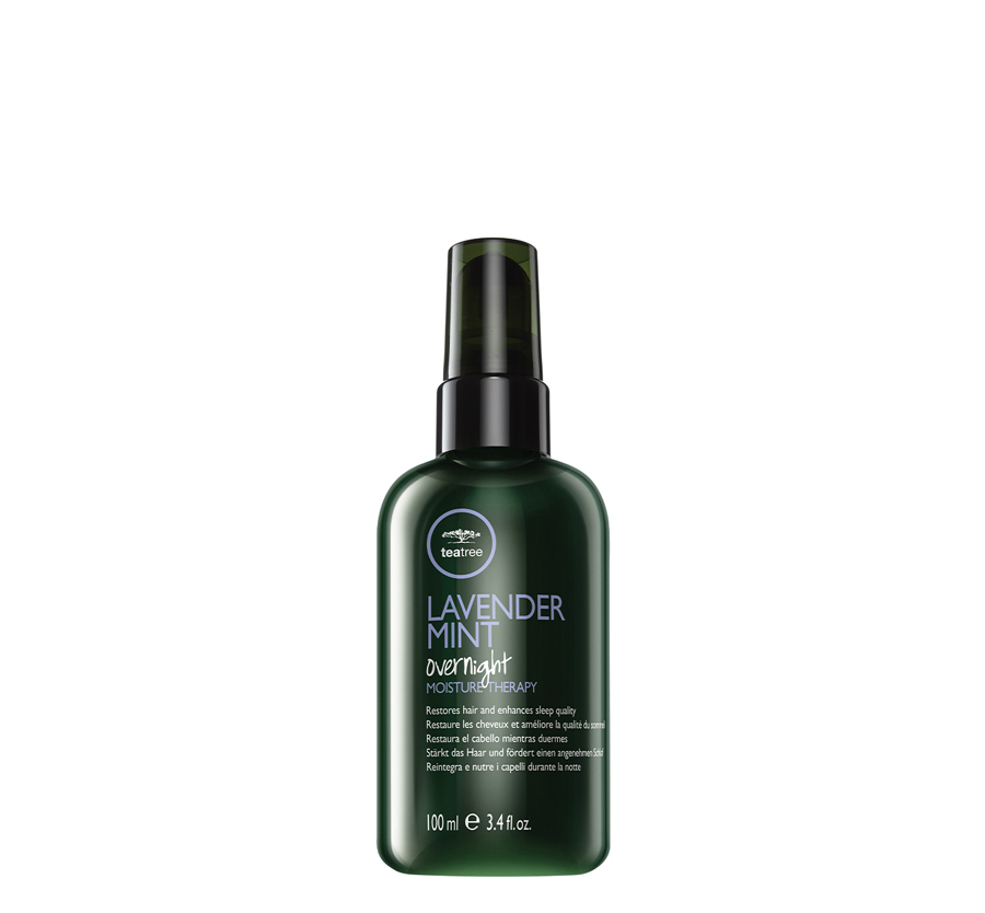 Lavender Mint Overnight Moisture Therapy 3.4oz Restores Hair   Enhances Sleep Quality