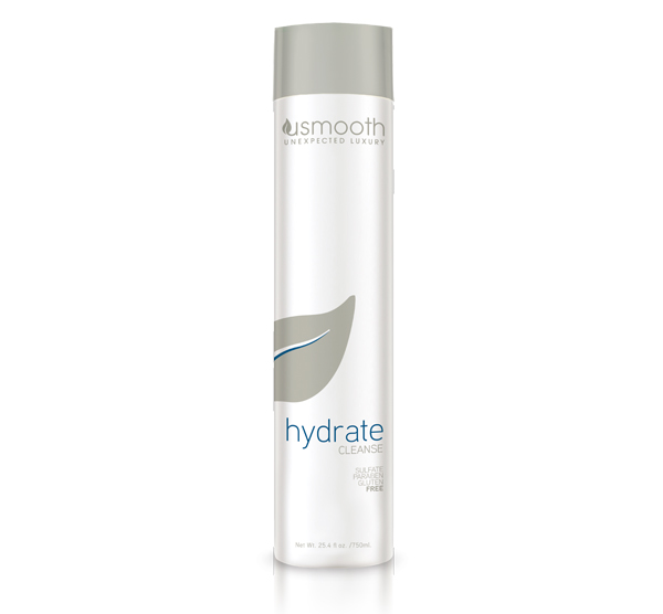 Hydrate Cleanse 25.4oz Usmooth