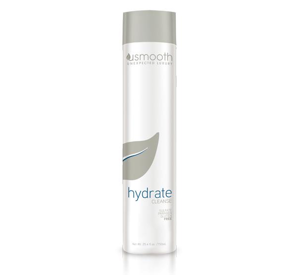 Hydrate Cleanse 25.4oz Usmooth